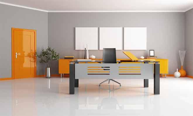 How should I organize my desk