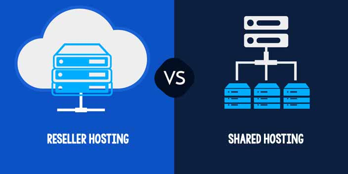 Difference Between Reseller Hosting and Shared Hosting