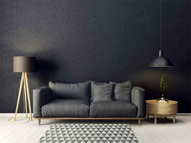 How to Decorate with Black Furniture